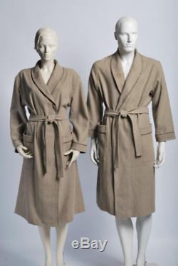 100% Linen bathrobe, Monogrammed, Natural linen robe, Women bathrobe, Linen SPA robe