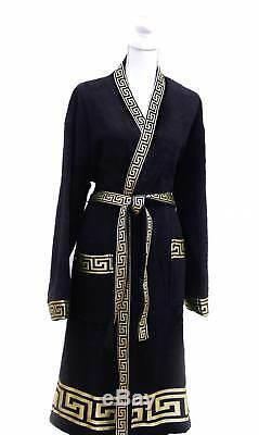 3 PC Mäander-set Kimono Robe + Towel + Bath Towel Medusa Gold Versac