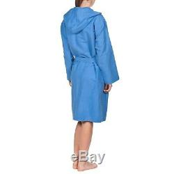 Arena Zeal Kimono Bathrobe Men 50045-72 Pool Blue S blue Royal/White