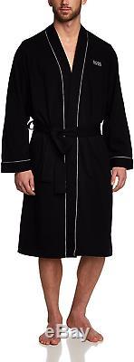 BOSS Men's Kimono BM Bathrobe, Black Black 1, X-Large