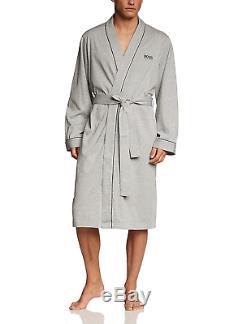 BOSS Men's Kimono BM Bathrobe, Grau Medium Grey 33, Small