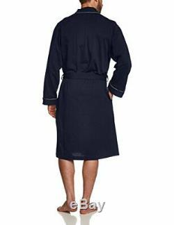BOSS Men's Kimono BM Bathrobe XL, Blue (Dark 403)