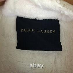 BRAND NEW WITH TAGS Ralph Lauren Langdon Bathrobe White (Dressing Gown) SIZE L
