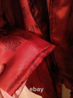 Bath Robe Bathrobe womens mens Satin Atlas Soft Spa Luxury New with Tag VIDEO