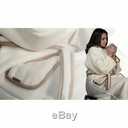 Bath Robe Dressing Gown from Cashmere, for Men and Women, all Sizes