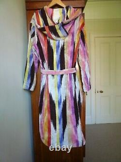 Beautiful Unisex Missoni Bathrobe Dressing Gown BNWOT small medium