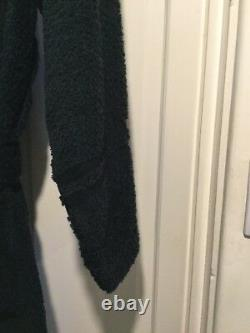 Black Ralph Lauren Polo Bath Sauna Robe new size s/m