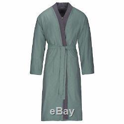 Bugatti Men's Bathrobe Sauna Coat Kimono Form Graphite Giovanni Cotton