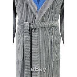 Cawö Men's Bathrobe Sauna Coat Walk Suede Quality 5819 17