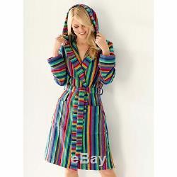 Cawö womans Bathrobe Sauna coat Terry Towelling Qualität 40-42 Multicolour
