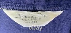 Christian Dior Bathrobe Blue unisex One Size F/S