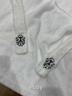 Chrome Hearts White Terrycloth Bathrobe