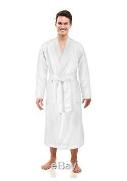 ComfyDown Luxurious Men Spa Bathrobe Full Length Favorite Robe of Celebrities