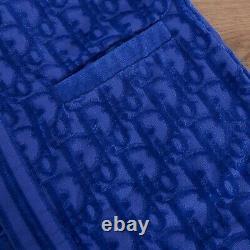 DIOR 2050$ Oblique Bathrobe In Terry Cotton Jacquard