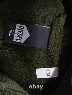 Diesel Hood Bathrobe New Without Tags Size S/M