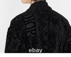 Dior X Shawn Stussy Bathrobe Black One Size