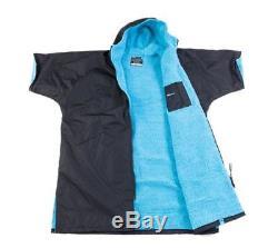 Dryrobe Advance Short Sleeve Changing Robe Mens Unisex Beach Surfing Watersports