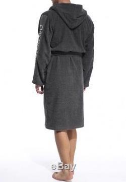 Emporio Armani Bathrobe Grey Towelling Dressin Accappatoio Towel Badjas