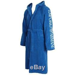 Emporio Armani Loungewear Bathrobe 110799 8P591 Cielo