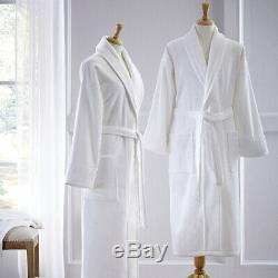 Fairfield By Sferra Bath Robe Velour (White)