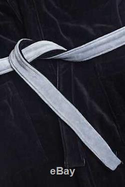 Fendi Bademantel Black Monster Eyes bag Bugs French Terry Bathrobe Bath Rope L