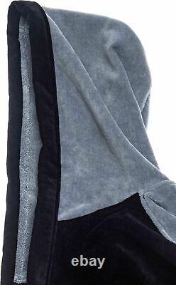 Fendi Robe Black Monster Eyes Bag Bugs French Terry Bathrobe Bath Rope M