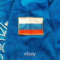 Forward Size L Russia National Team Soft Bathrobe Robe 100% Cotton Mens