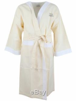 Frette for The Peninsula Hotel Hongkong bathrobe robe 100% cotton beige
