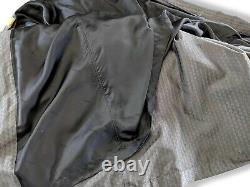 Hermes Luxurious Dark Grey Men's 100% Silk Faconnee H Bath Robe Sz L-XL
