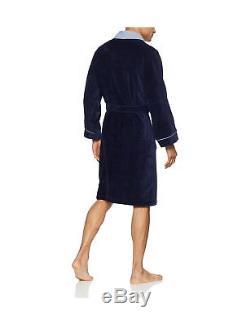 Hom Men's Beatnick Bathrobe Blue (Marine) Medium