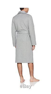 Hugo Boss Men's Contemporary Robe Bathrobe Grey (Medium Grey 33) X-Large