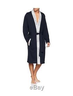 Hugo Boss Men's Identity Kimono Bathrobe Blue (Dark Blue 403) Large