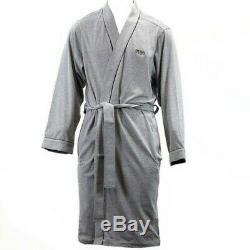 Hugo Boss Men's Kimono Medium Grey Bath Robe