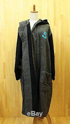 Imabari towel bathrobe number color Men's 05 dark gray