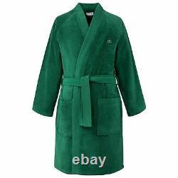 Lacoste L Defile Men's Bathrobe, Green