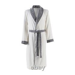 Lord Cotton Bath Robe By Hugo Boss, Shawl Collar, In Ice Color
