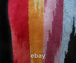 MISSONIHOME HOODED BATH ROBE VELOUR MASTER MODERNO COLLECTION HOMER 156 Sz L