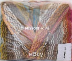 MISSONI HOME HOOD BATH ROBE ROSE GARDEN COLLECTION TIAGO 141 UNISEX Sz M L