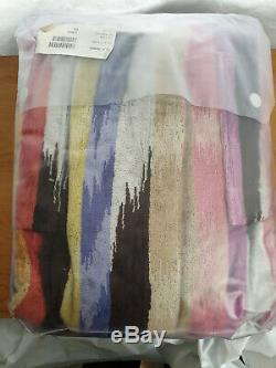MISSONI Home Hooded BATH ROBE in Medium New in Pack Homer 100% Cotton Unisex
