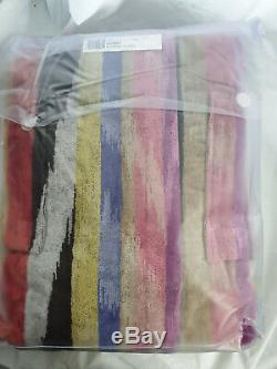 MISSONI Home Hooded BATH ROBE in Small New in Pack Homer 156A Free P&P