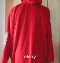 Marlboro Collection Men Women red christmas bath Robe Size XXL collectibles EUC