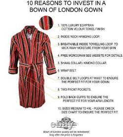 Men's British Luxury Bathrobe The Ely