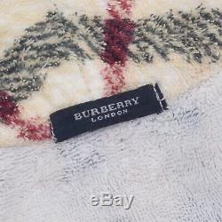 Men's Rare Vintage Burberry London Nova Bathrobe Authentic Unisex