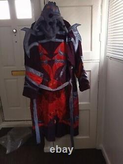 Men's Rare World of Warcraft Malefic Raiment Bath/Dressing/Costume Robe one size