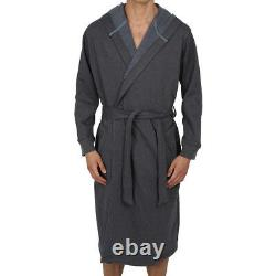 Mens Bathrobe Big & Tall 2x 3X 4X 5X (Sweatshirt Style Fabric) USA Seller