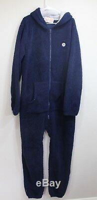 Mens Penguin Munsing Wear Warm Fuzzy Bathrobe Pajamas Size XL