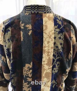 Mens Vintage Kenzo Paris Bath Robe Size Medium (excellent Condition)