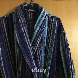 Missoni Gown Coat Bathrobe Mens Women Size L