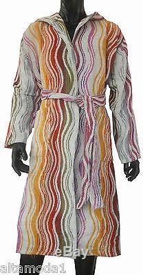 Missoni Home Accappatoio Bath Robe Chevron Collection Peggy 159 Large Cappuccio