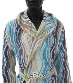 Missoni Home Bath Robe Cotton Peggy 170 Hooded Medium Chevron Collection